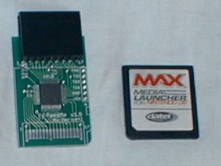 From Left To Right The PassMe Adapter And A NoPass Card